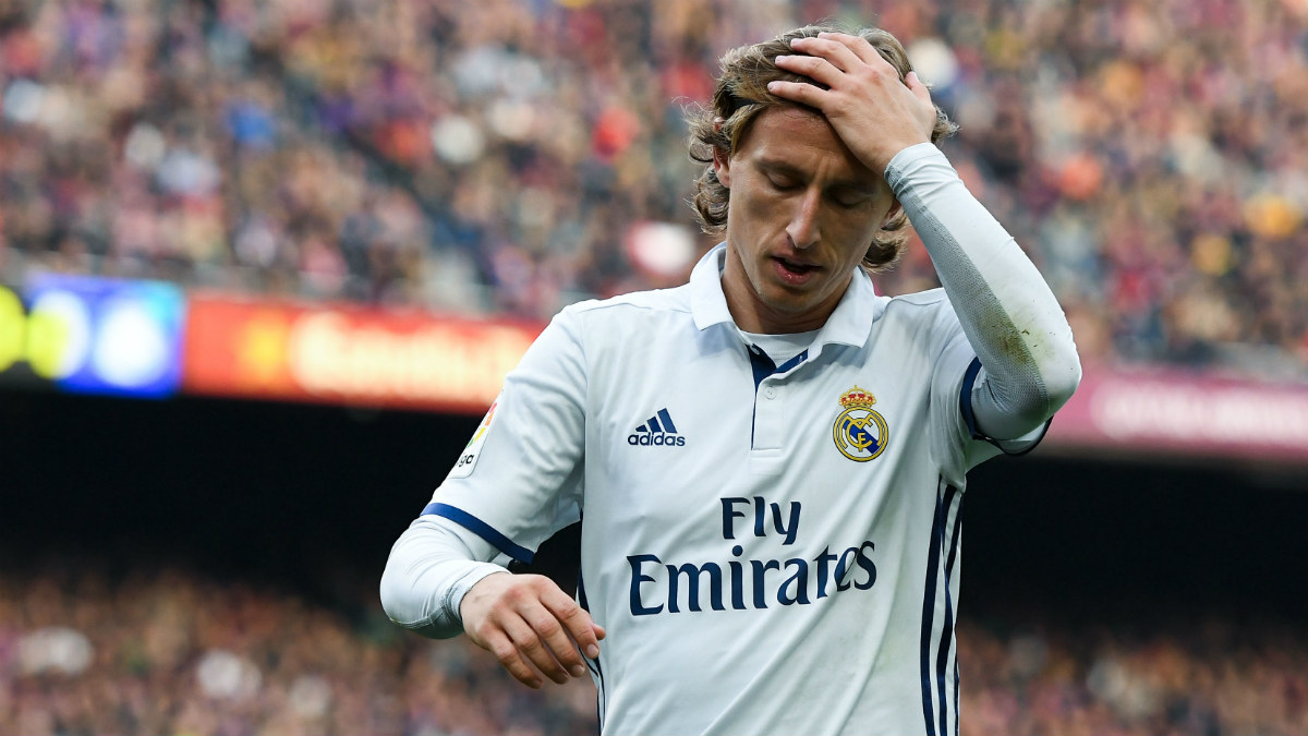 Luka Modric es seria duda para Balaídos. (Getty)