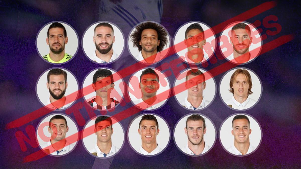 Los 15 intransferibles del Real Madrid para el próximo verano
