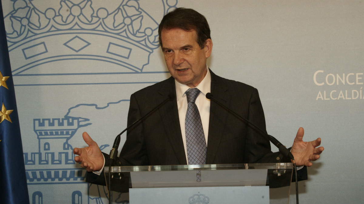 Abel Caballero durante una rueda de prensa. (EFE)
