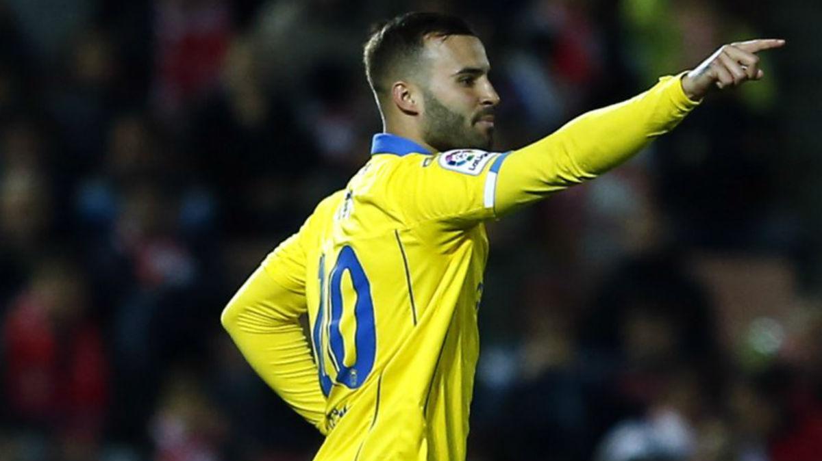 Jesé Rodríguez debuta con Las Palmas. (LaLiga)