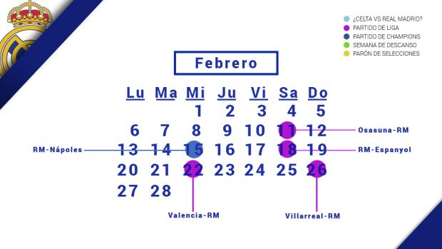 Calendario Real Madrid Liga.Al Madrid Le Ahoga El Calendario