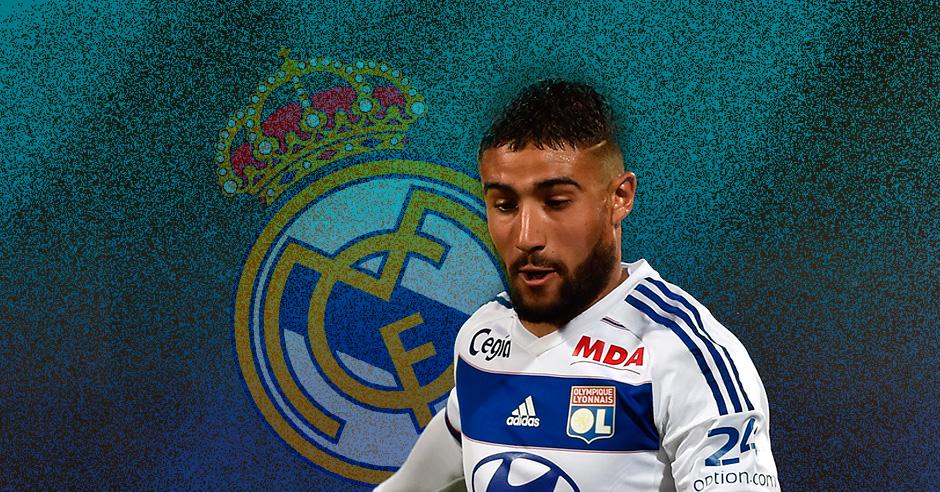 Fekir está como loco por jugar en el Real Madrid