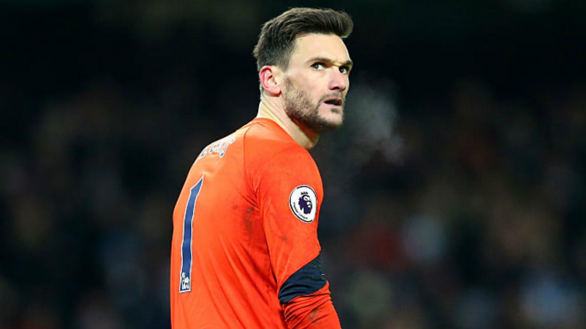 Lloris durante un partido con el Tottenham. (Getty Images)