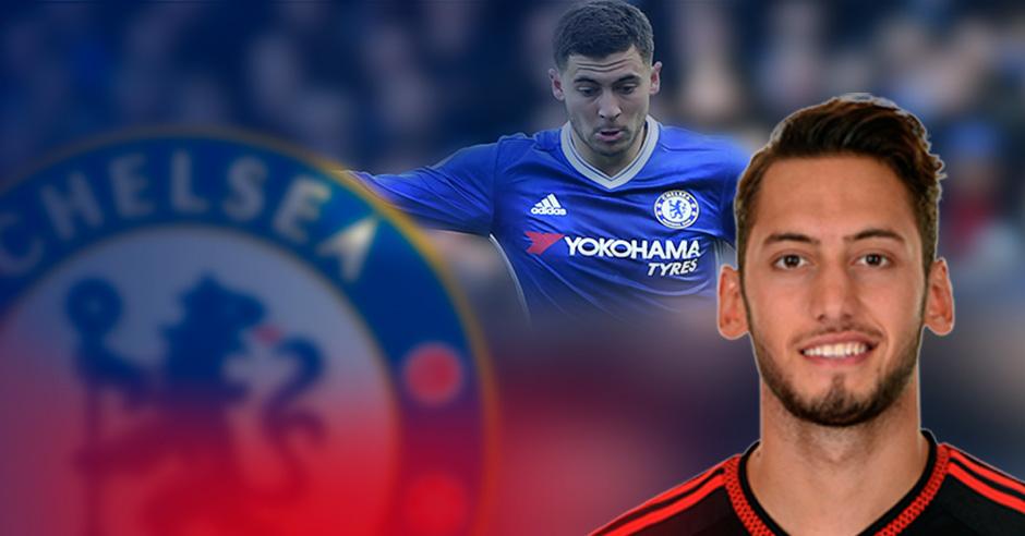 El Chelsea aprieta por Çalhanoglu por miedo a perder a Hazard