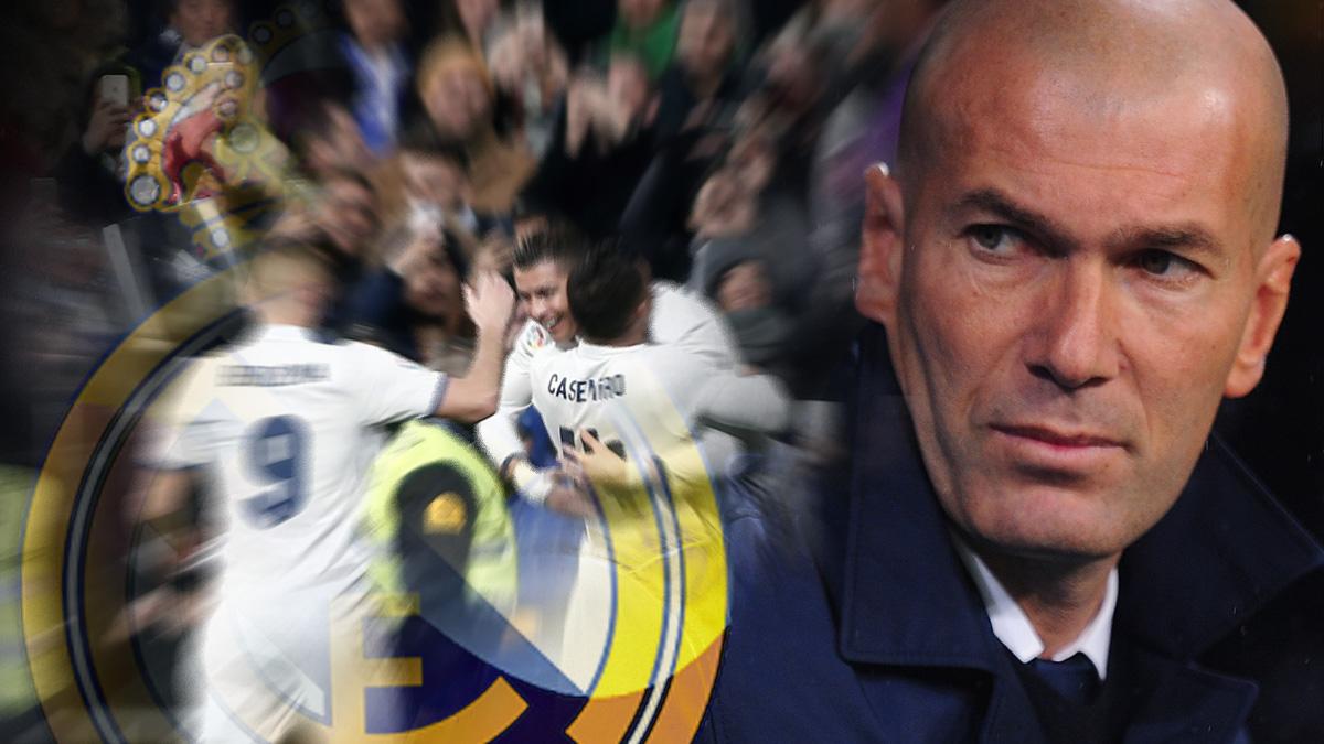 Zidane: «Veníamos a sufrir y lo hemos hecho»