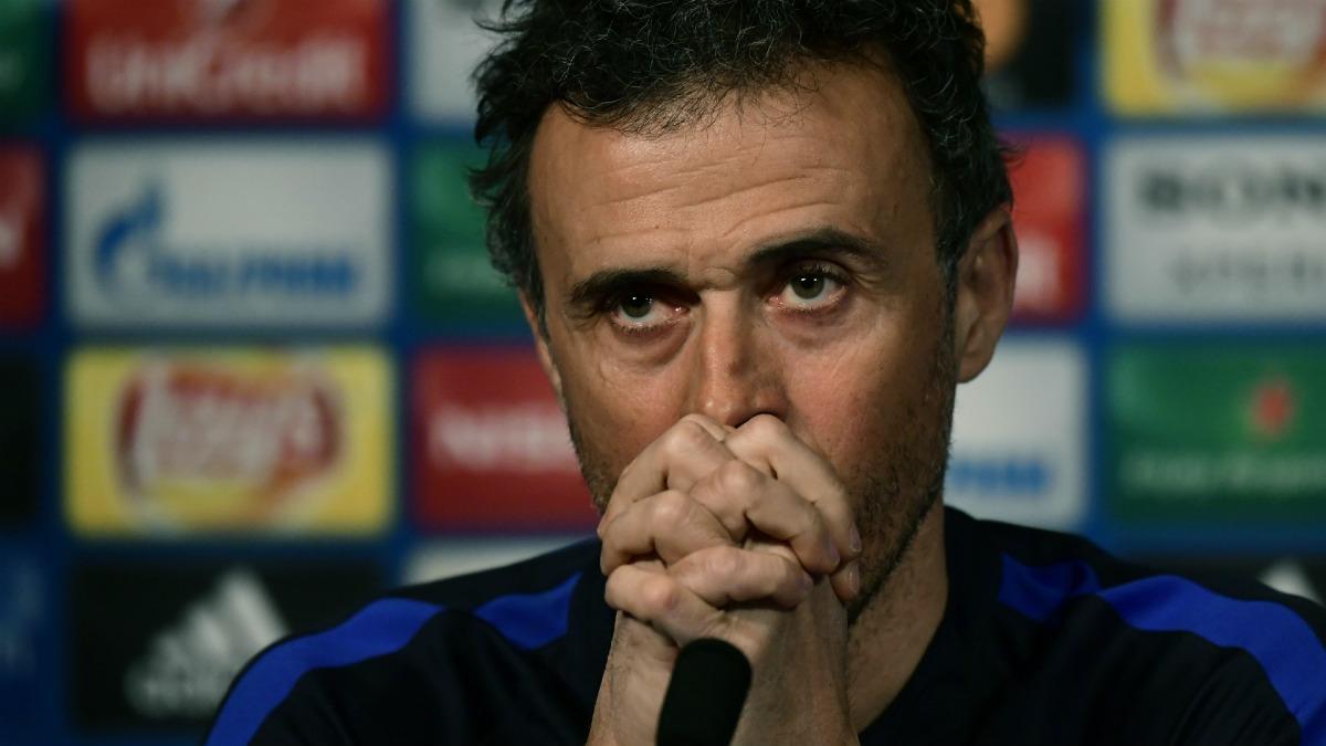 Luis Enrique no tolera bien las derrotas del Barcelona. (AFP)