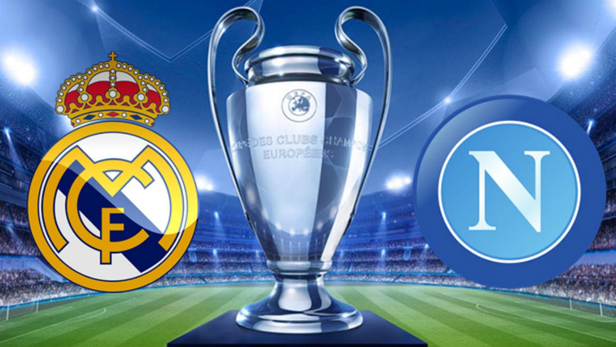 Real Madrid Vs Nápoles.