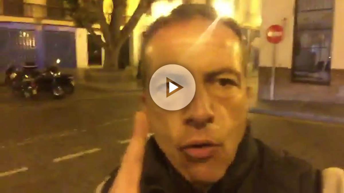 Cristóbal Soria grabó un nuevo vídeo haciendo el ridículo.