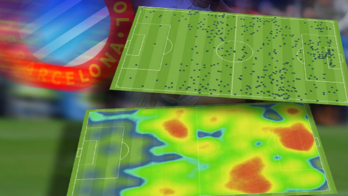 El Espanyol sólo tocó ¡3 balones! en el área del Real Madrid