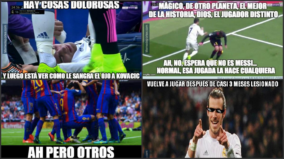Bale y su golazo protagonizan los mejores memes