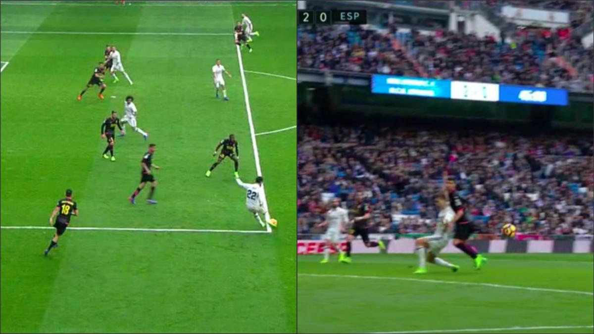 Contra el Espanyol en la pasada Liga, Undiano no pitó un penalti por un fuera de juego inexistente.