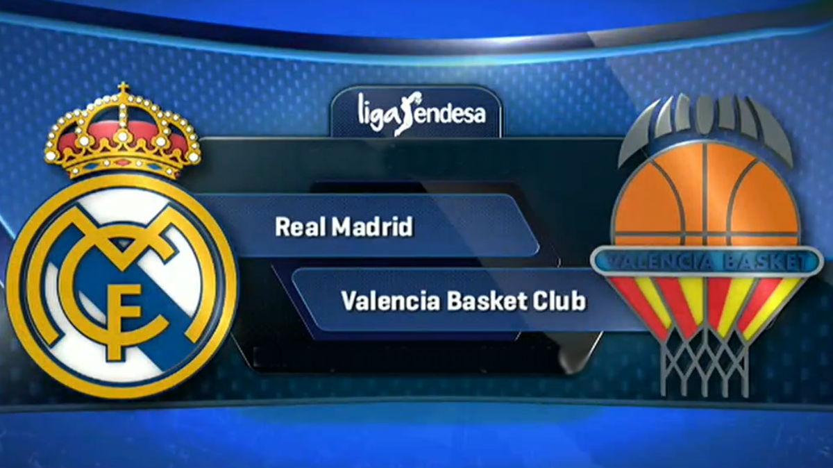 Real Madrid Vs Valencia Basket.