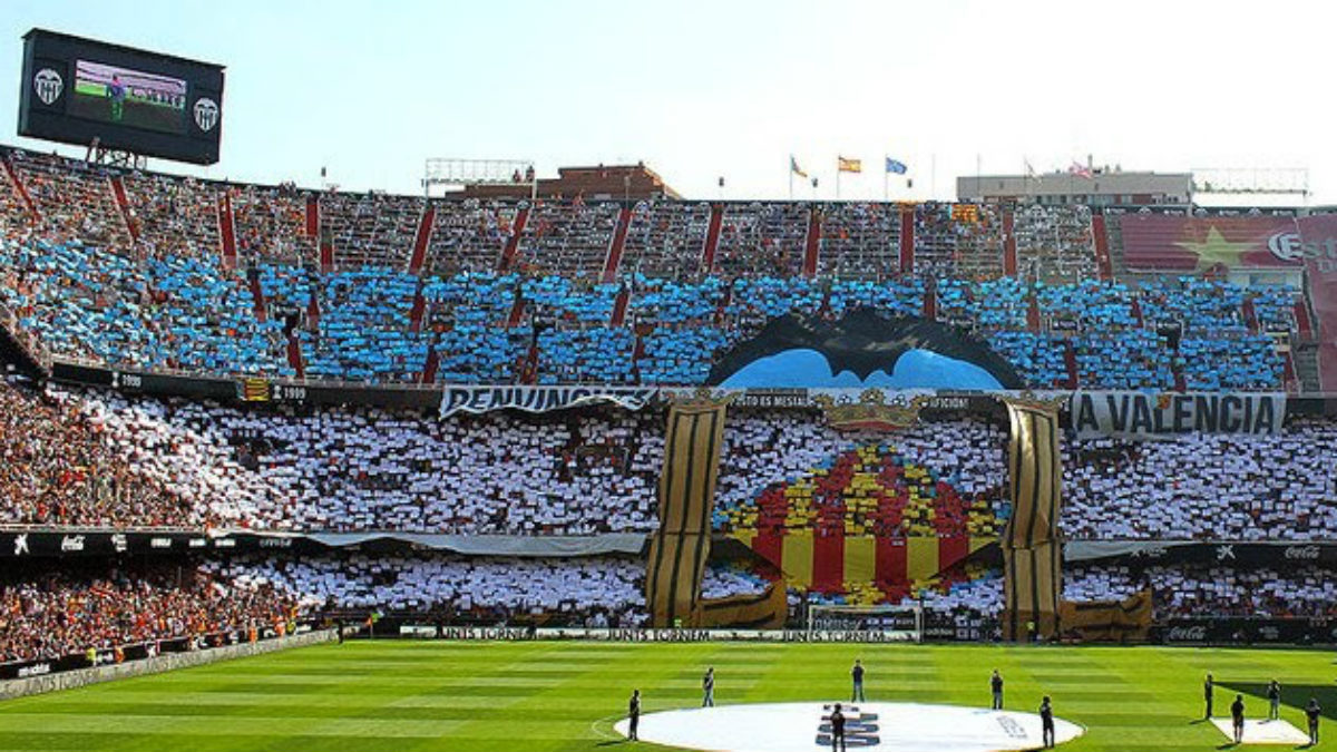 Mestalla se llenará para recibir al Real Madrid.