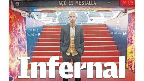 Portada de Superdeporte antes del Valencia vs Real Madrid.