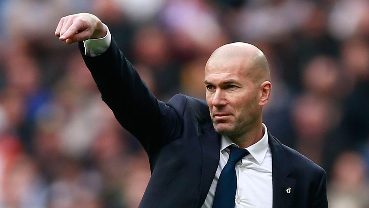 Zidane da un toque a su plantilla: «Nos tiene que servir de lección»