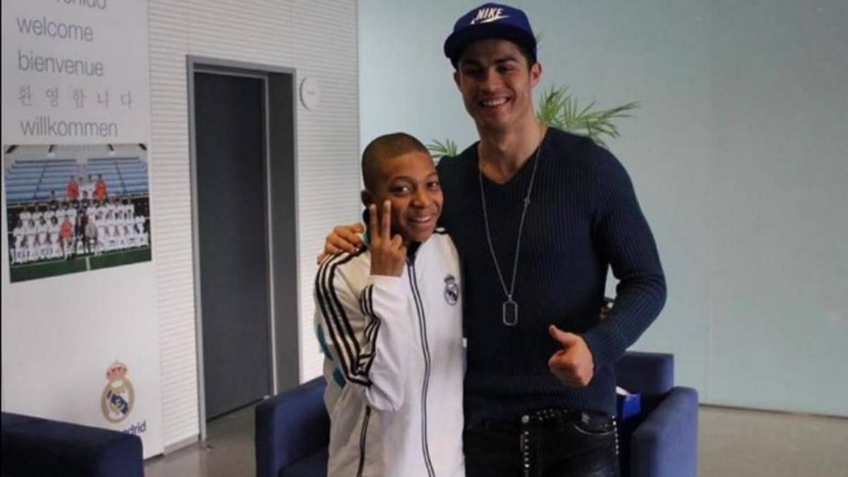 Mbappé es madridista y fan de Cristiano Ronaldo