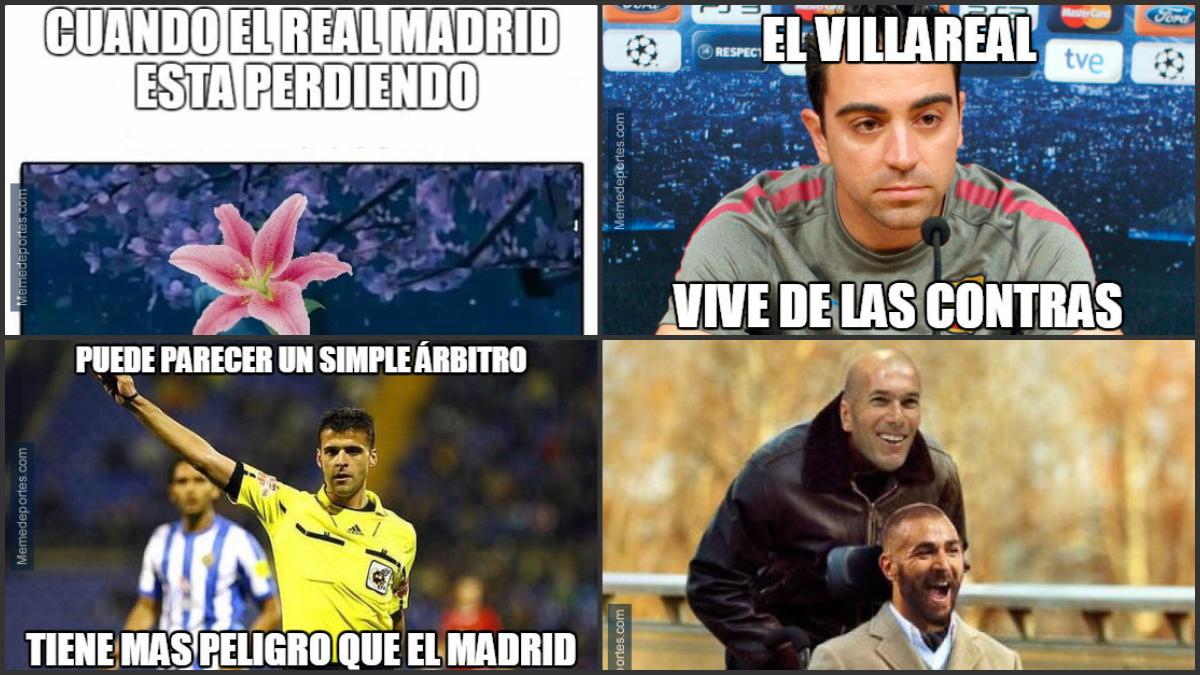 Los mejores 'memes' del Villarreal-Real Madrid.