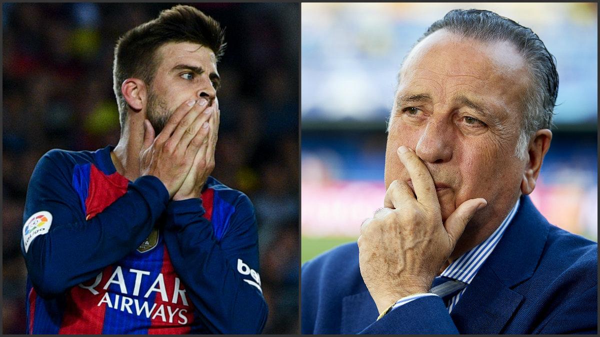 Piqué y Fernando Roig serán denunciados por el Comité de Árbitros.
