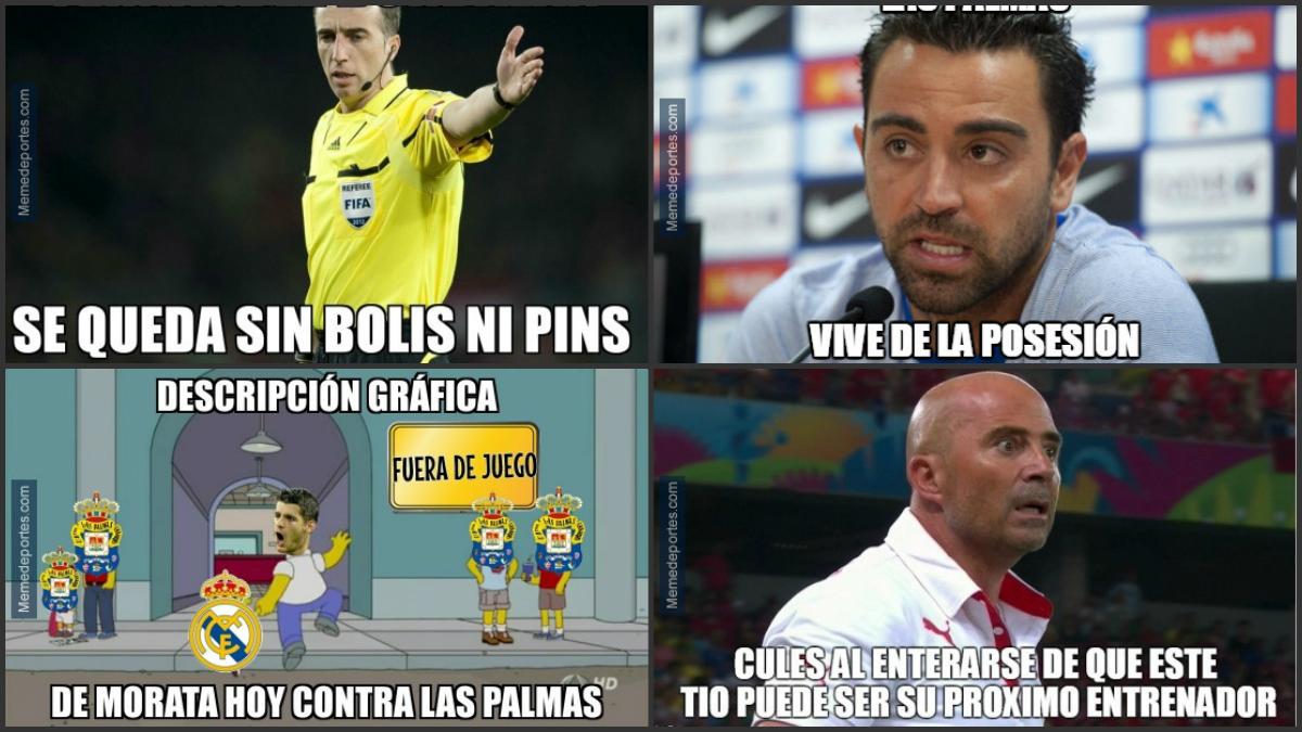 Los mejores 'memes' del Real Madrid-Las Palmas.