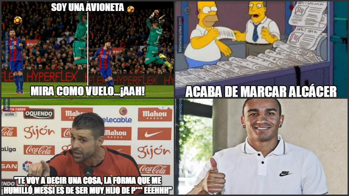 Los mejores 'memes' del Barcelona-Sporting.