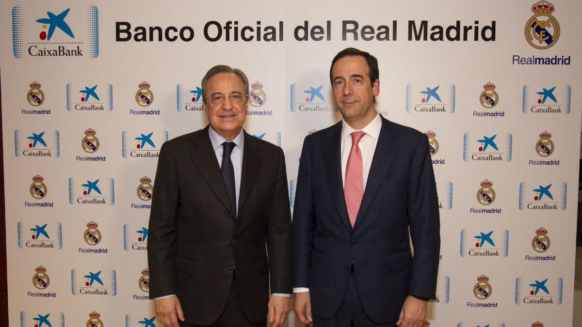 Florentino Pérez y Gonzalo Gortázar firmaron el acuerdo.