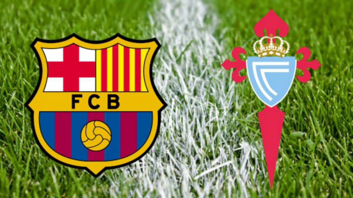 Barcelona Vs Celta de Vigo.