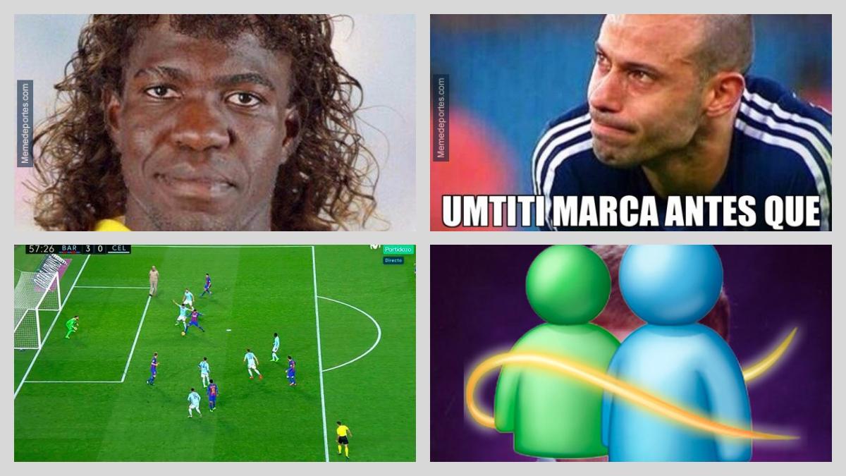 Memes del Barcelona vs Celta
