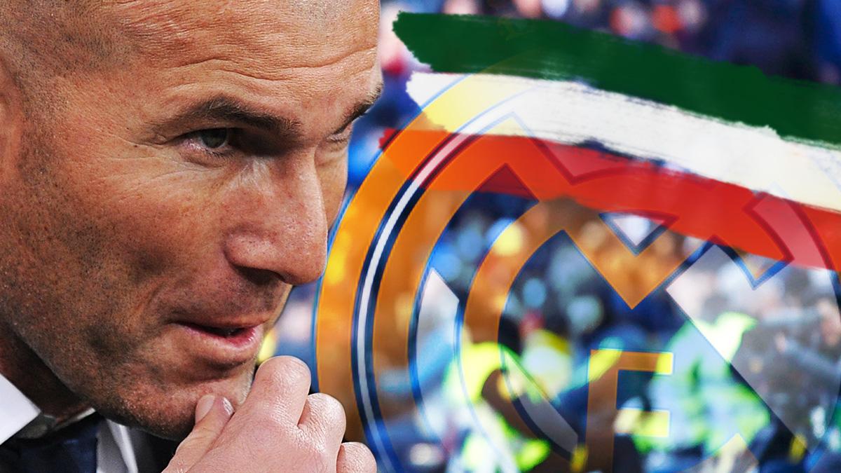 Zidane ya sabe lo que es triunfar en el fútbol italiano.