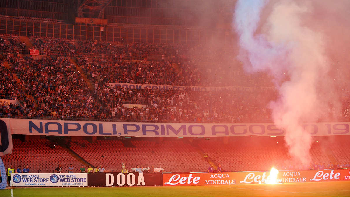 El Nápoles prepara una encerrona al Real Madrid en San Paolo. (Getty)