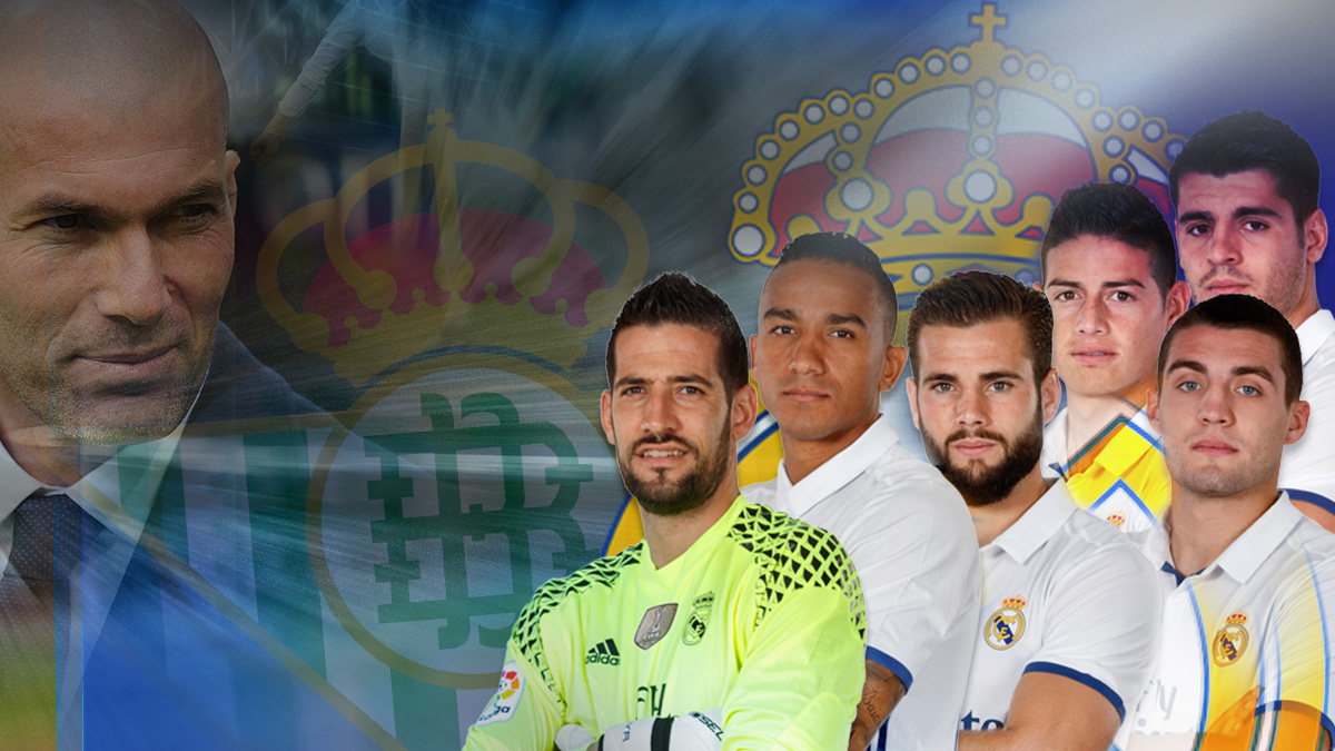 Zidane pondrá ante el Betis a los más 'ligones'
