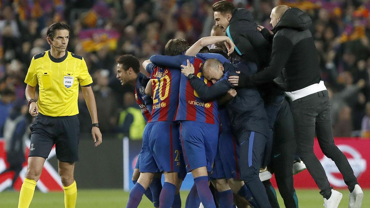 Las casas de apuestas han sufrido un duro golpe tras el Barça vs PSG.