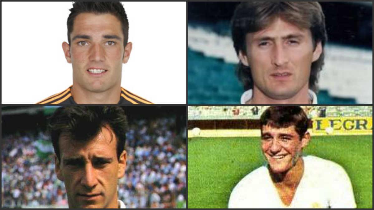 Adán, Jarni, Alfonso o Rincón jugaron en ambos equipos.