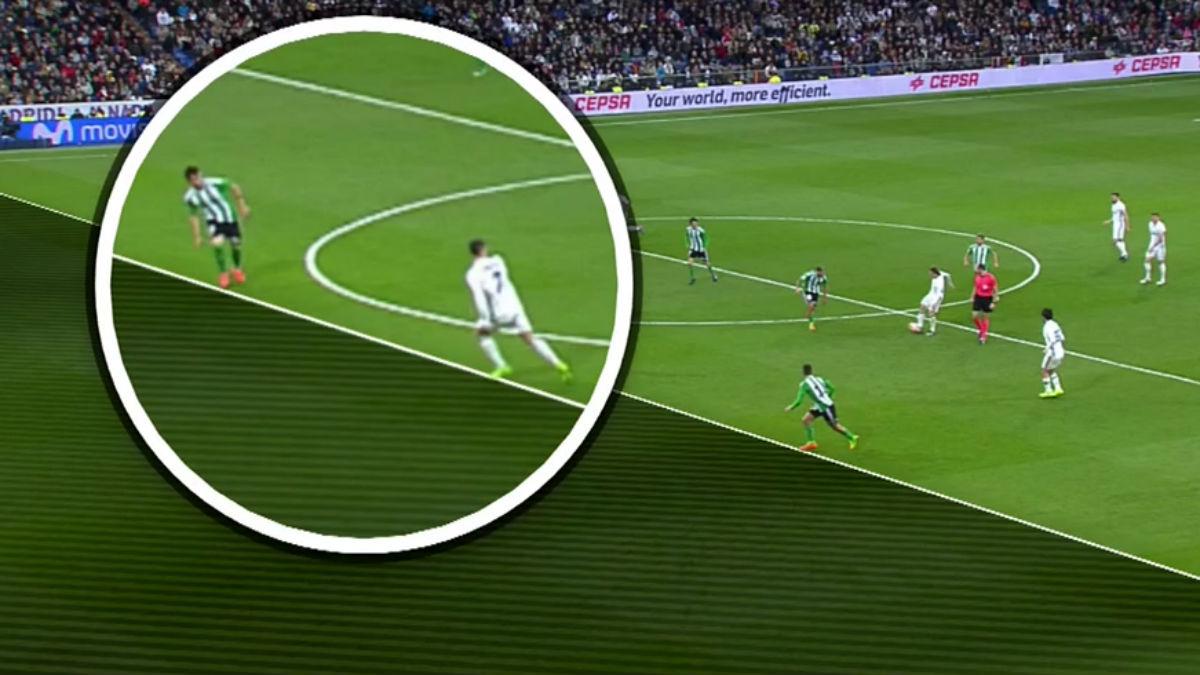 Cristiano Ronaldo no estaba en fuera de juego.