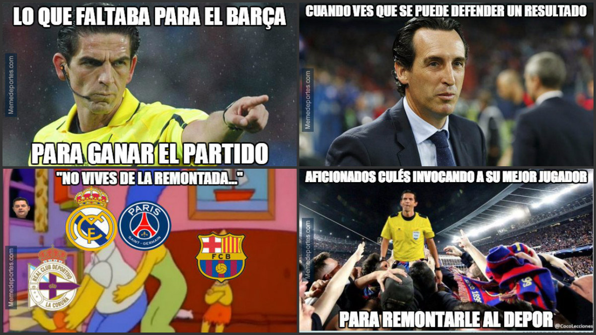 Los mejores memes del Dépor-Barça.