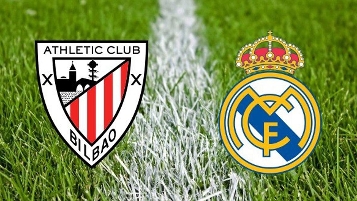 Athletic vs Real Madrid horario y canal de televisión