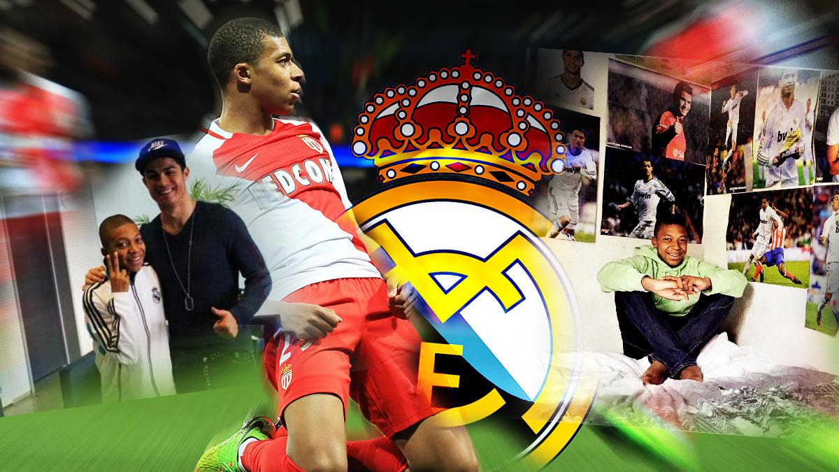 Mbappé ha nacido para jugar en el Real Madrid.