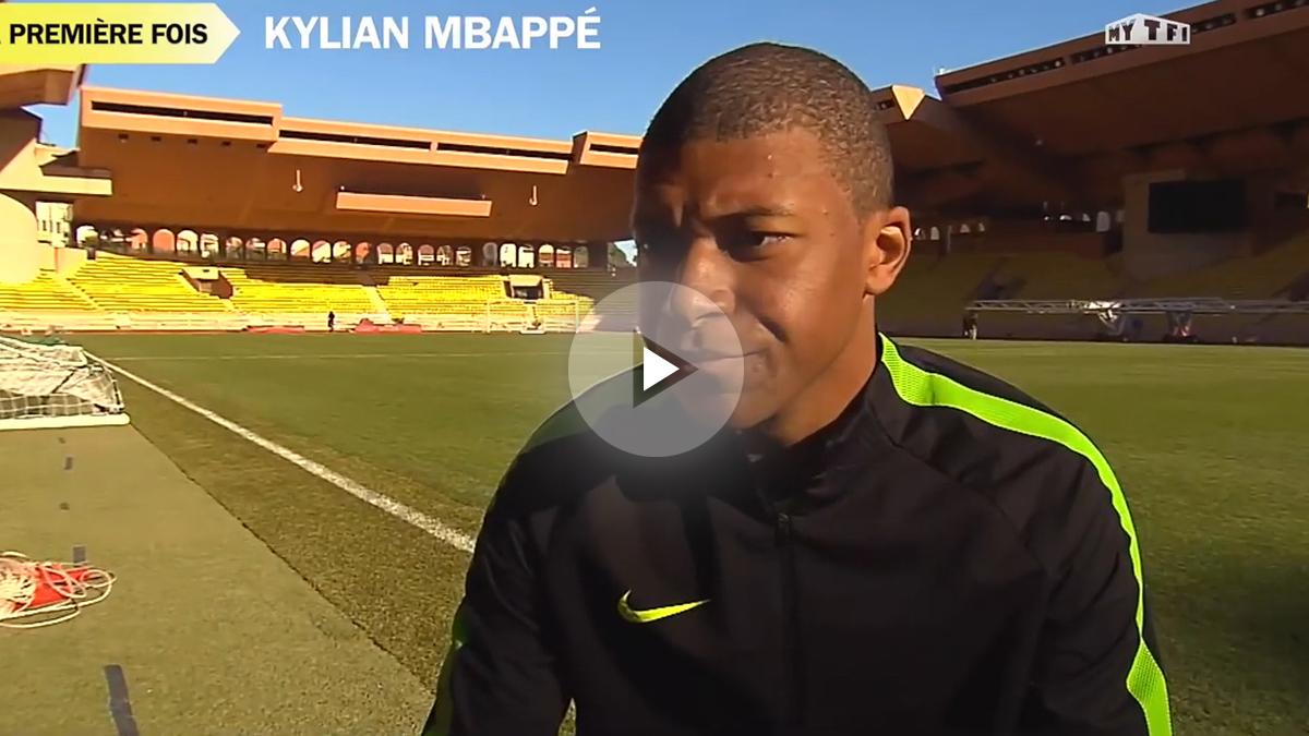 El joven Mbappé se declara admirador de Zidane