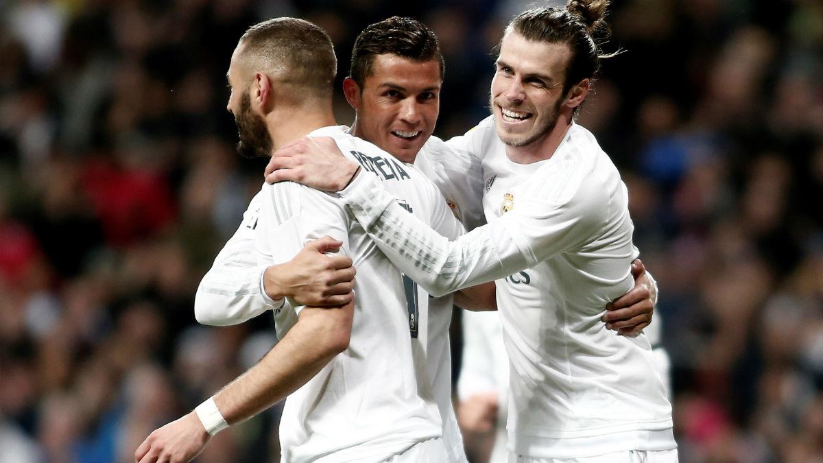 La BBC y Keylor, fuera de la convocatoria para el Sporting vs Real Madrid. (Getty)