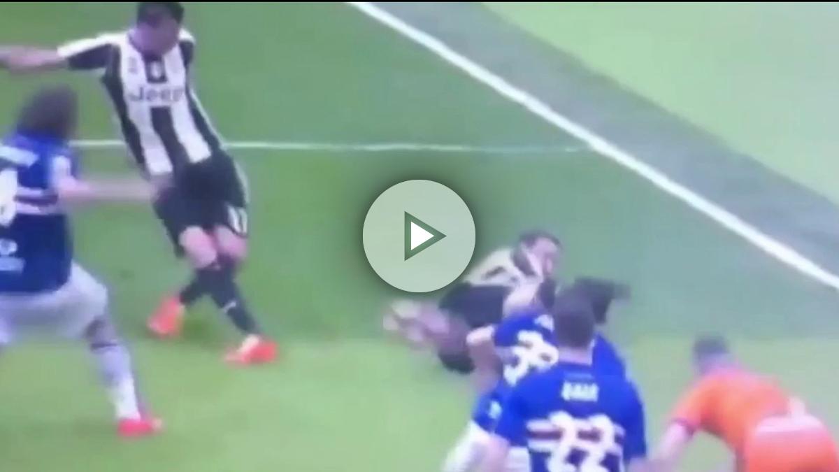 Higuaín falló un gol y evitó el de su compañero Mandzukic.