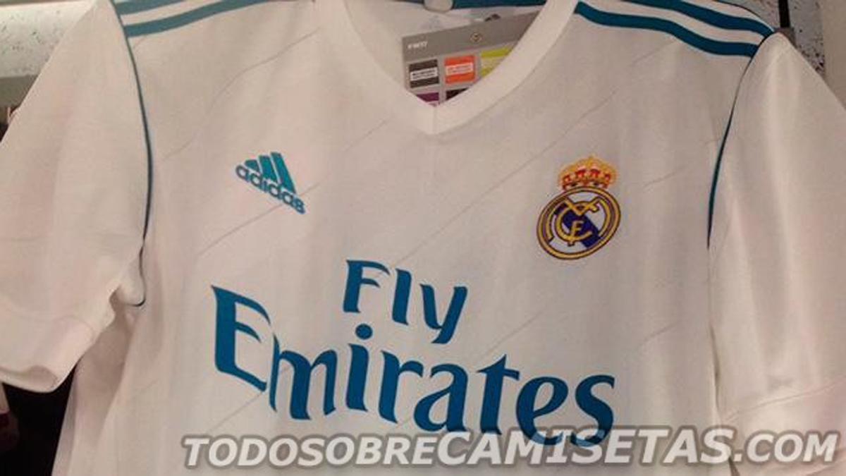 Filtran la primera imagen real de la próxima camiseta del Real Madrid