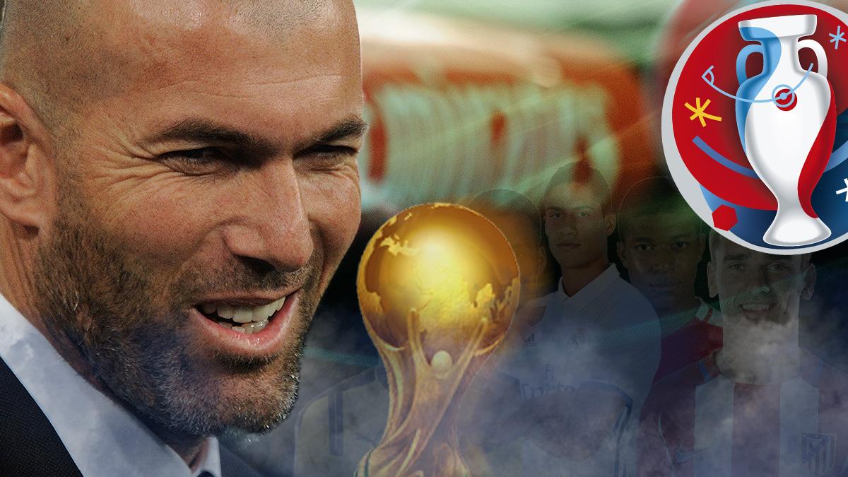 Zinedine Zidane se convirtió en el ídolo de la actual generación de futbolistas franceses.