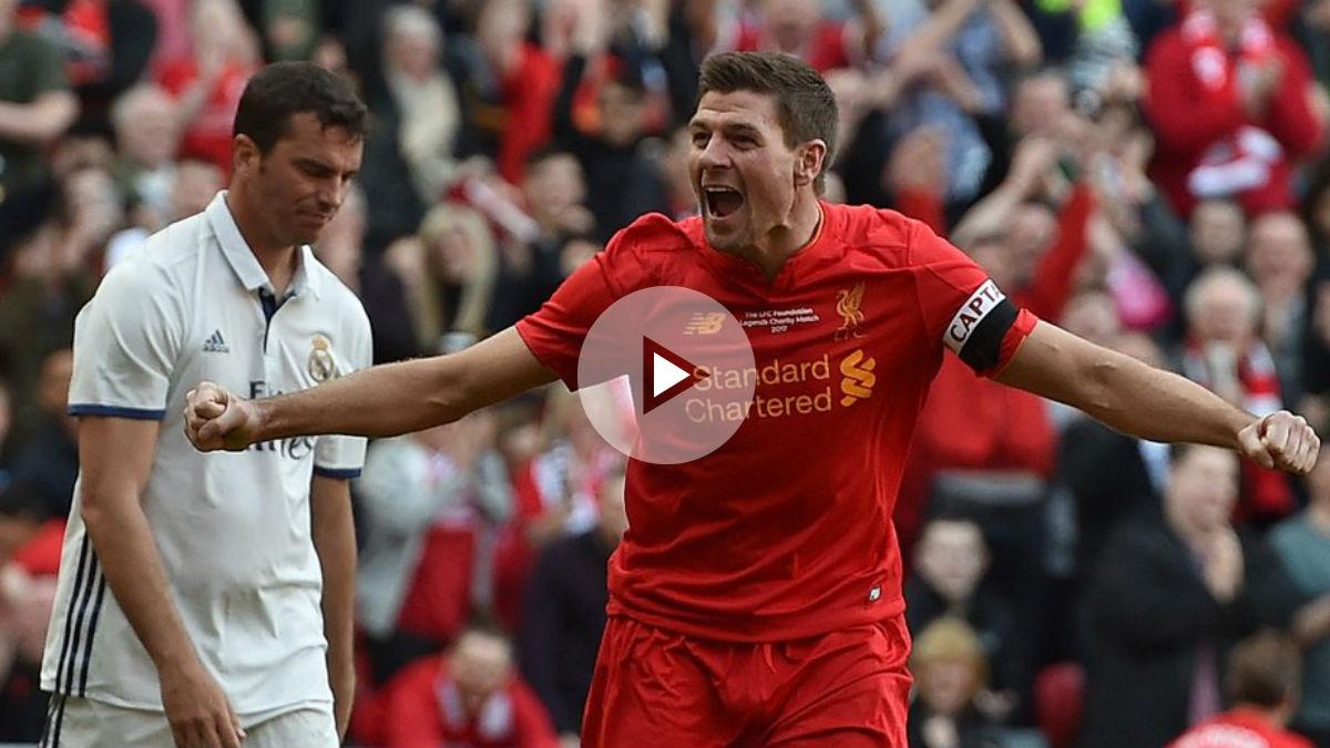 La remontada no puede con Gerrard (4-3)