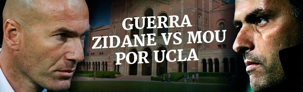 Guerra entre Zidane y Mourinho por la Universidad de UCLA