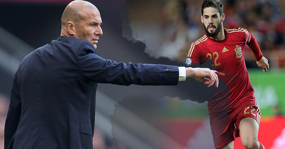 Zidane quiere al Isco de España