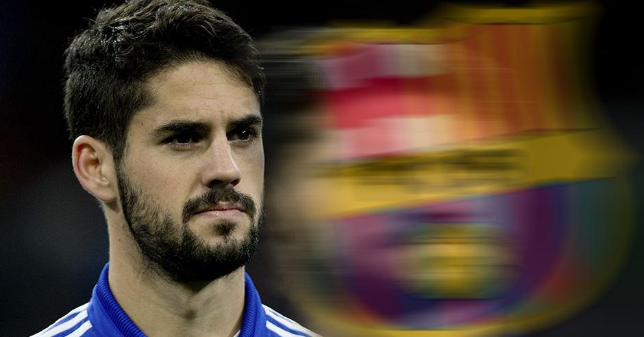 Isco se frota las manos con el interés del Barcelona