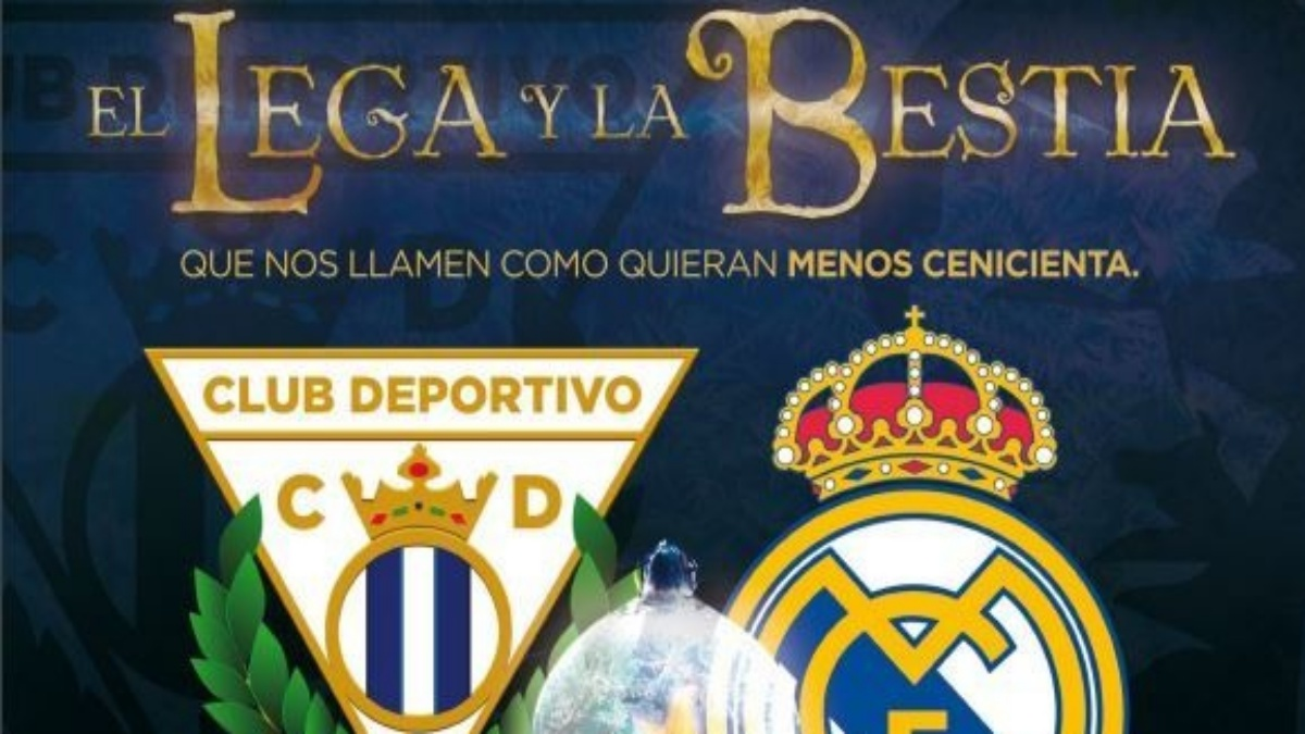 Cartel del Leganés vs Real Madrid