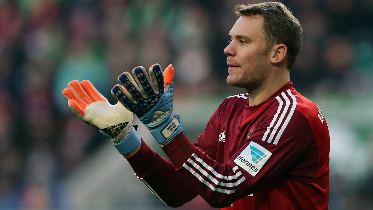 Neuer, en un partido con el Bayern. (AFP)