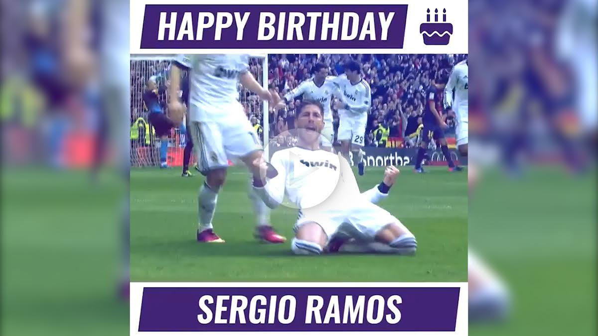 El Real Madrid felicita a Sergio Ramos. (realmadrid.com)