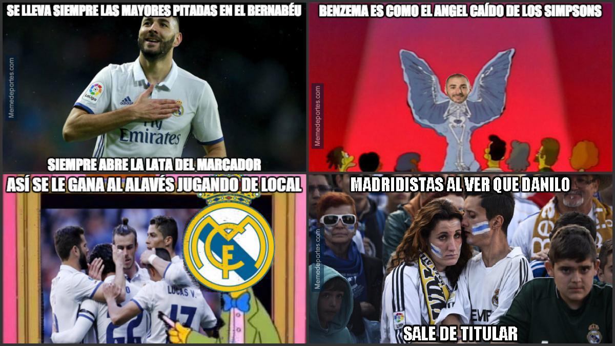 Los mejores 'memes' del Real Madrid-Alaves.