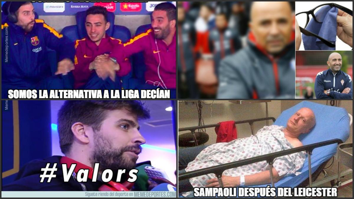 Los mejores 'memes' del Barcelona-Sevilla.